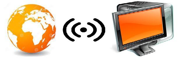 Управление экраном через GPRS мобильный и локальный интернет