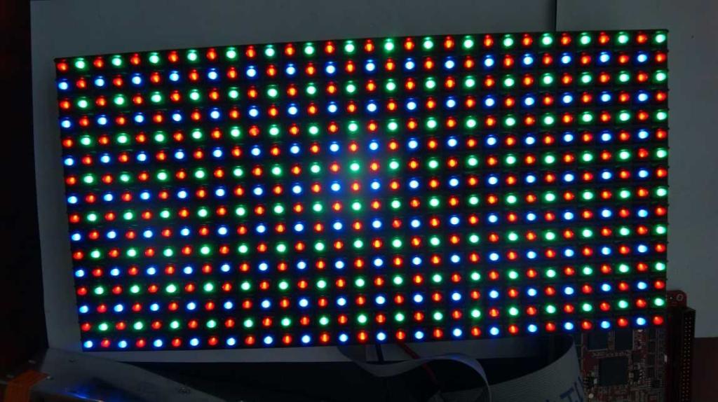 Разноцветный светодиодный модуль