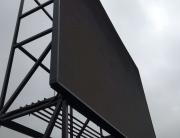 Светодиодный экран крышная установка для ресторана в Москве