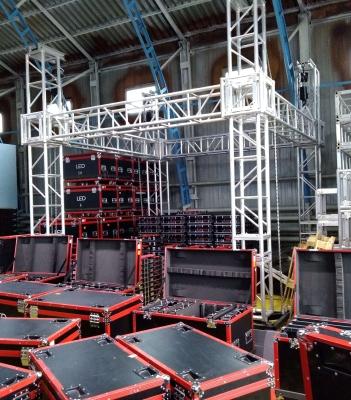 Алюминиевая ферма арендного светодиодного экрана